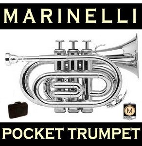 Silver Plated Pocket Trumpet